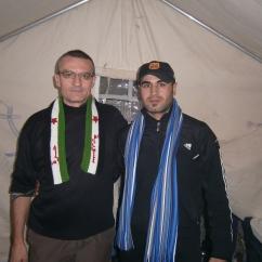 Nei campi di rifugiati siriani alla frontiera turca (novembre 2011)